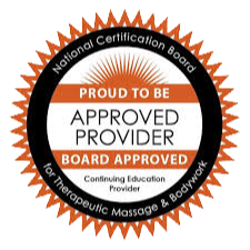 Approved Provider Board Approved for Therapeutic Massage & Bodywork